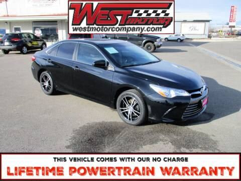 2016 Toyota Camry for sale at West Motor Company in Hyde Park UT