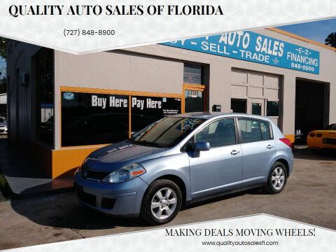 2009 Nissan Versa for sale at QUALITY AUTO SALES OF FLORIDA in New Port Richey FL