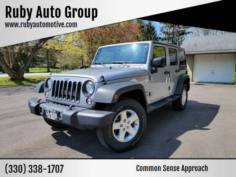 2014 Jeep Wrangler Unlimited for sale at Ruby Auto Group in Hudson OH
