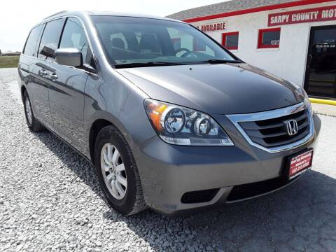 2009 Honda Odyssey for sale at Sarpy County Motors in Springfield NE