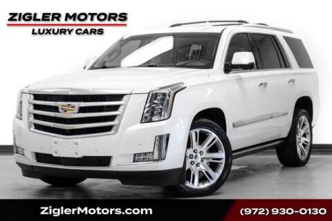 2016 Cadillac Escalade for sale at Zigler Motors in Addison TX