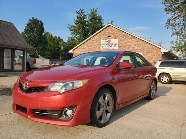 2012 Toyota Camry for sale at Tyson Auto Source LLC in Grain Valley MO