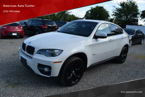 2011 BMW X6 for sale at American Auto Center in Austin TX