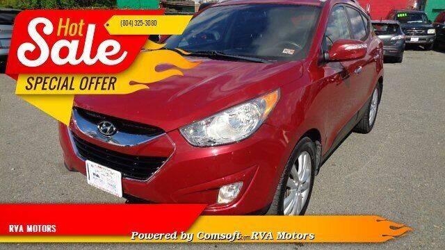 2012 Hyundai Tucson for sale at RVA MOTORS in Richmond VA