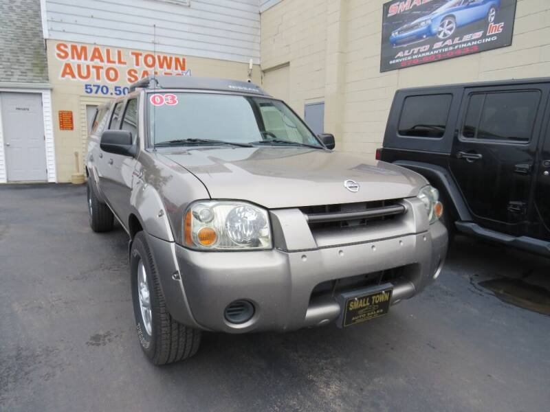 2003 Nissan Frontier for sale at Small Town Auto Sales in Hazleton PA
