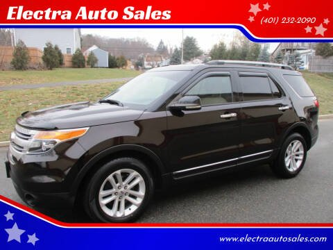 2013 Ford Explorer for sale at Electra Auto Sales in Johnston RI