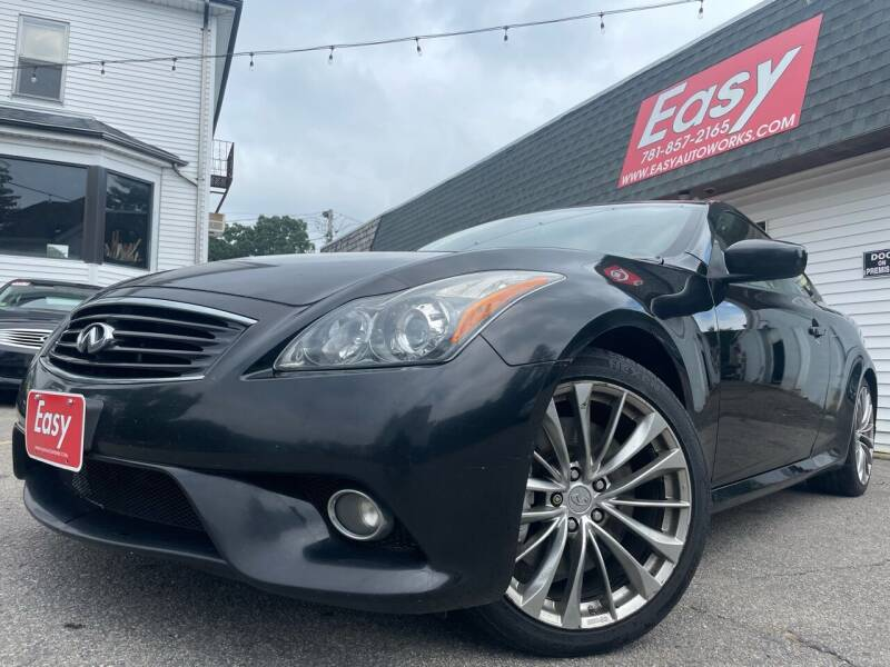 2013 Infiniti G37 Coupe for sale at Easy Autoworks & Sales in Whitman MA