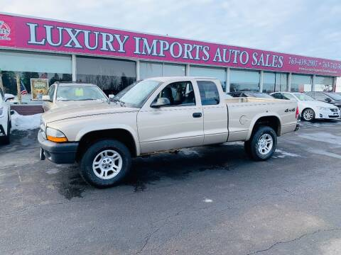 2004 Dodge Dakota for sale at LUXURY IMPORTS AUTO SALES INC in North Branch MN