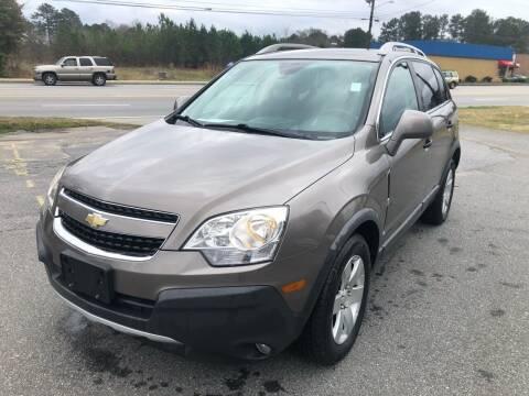 2012 Chevrolet Captiva Sport for sale at ATLANTA AUTO WAY in Duluth GA