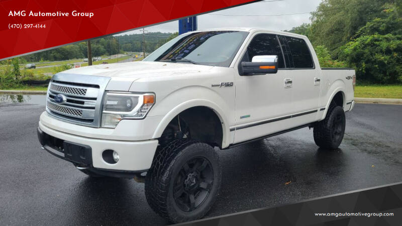 2014 Ford F-150 for sale at AMG Automotive Group in Cumming GA