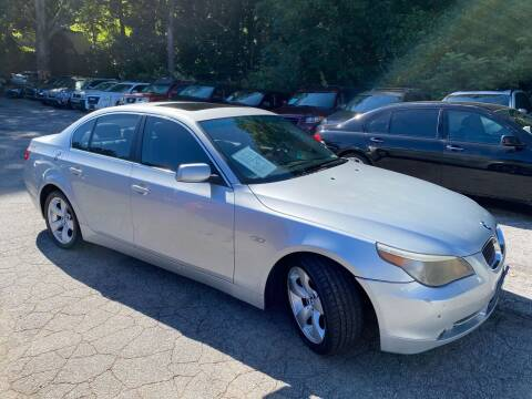 2007 BMW 5 Series for sale at Car Online in Roswell GA