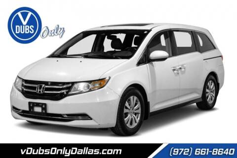 2015 Honda Odyssey for sale at VDUBS ONLY in Dallas TX