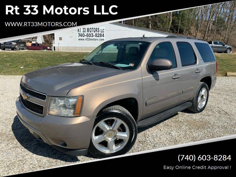 2007 Chevrolet Tahoe for sale at Rt 33 Motors LLC in Rockbridge OH