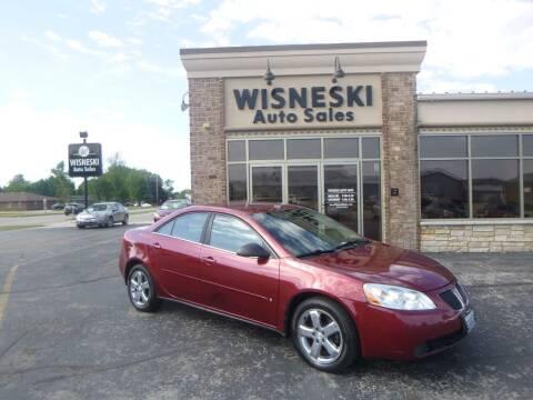 2008 Pontiac G6 for sale at Wisneski Auto Sales, Inc. in Green Bay WI