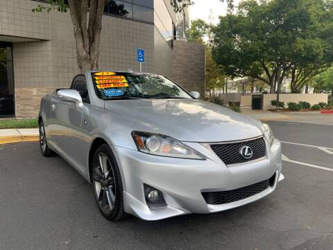 2013 Lexus IS 250C for sale at Right Cars Auto Sales in Sacramento CA