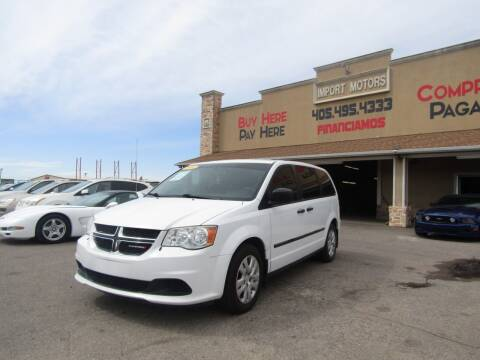 2014 Dodge Grand Caravan for sale at Import Motors in Bethany OK