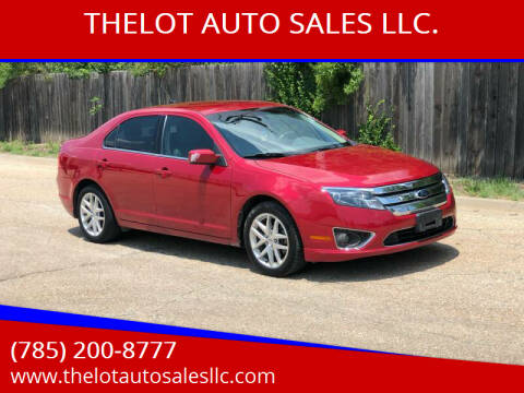 2012 Ford Fusion for sale at THELOT AUTO SALES LLC. in Lawrence KS
