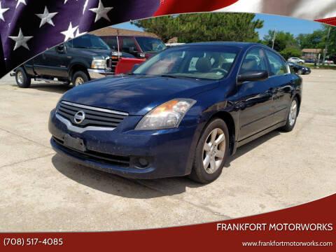 2007 Nissan Altima for sale at Frankfort Motorworks in Frankfort IL