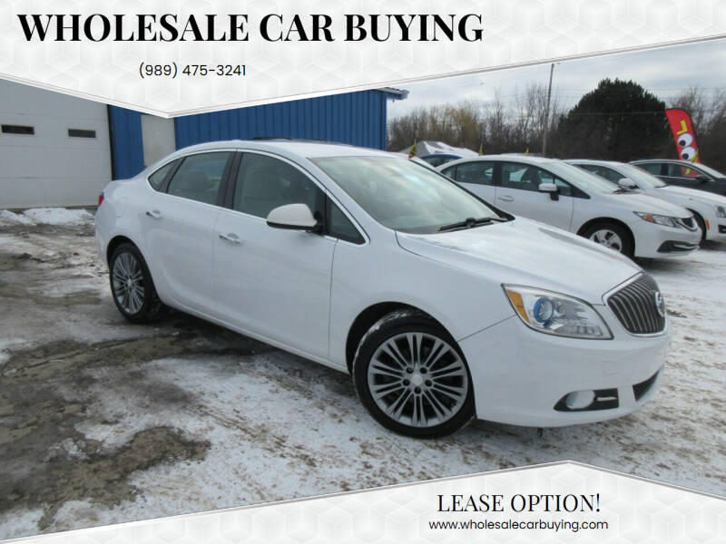 2015 Buick Verano for sale at Wholesale Car Buying in Saginaw MI