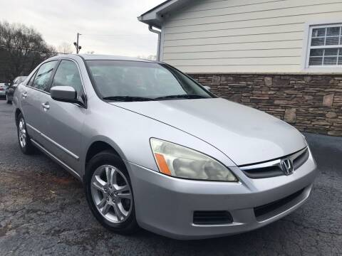 2006 Honda Accord for sale at No Full Coverage Auto Sales in Austell GA