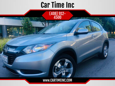 2018 Honda HR-V for sale at Car Time Inc in San Jose CA