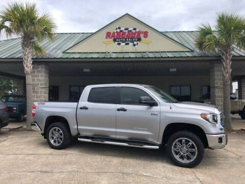 2018 Toyota Tundra for sale at Rabeaux's Auto Sales in Lafayette LA