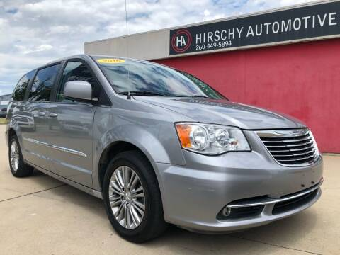 2016 Chrysler Town and Country for sale at Hirschy Automotive in Fort Wayne IN