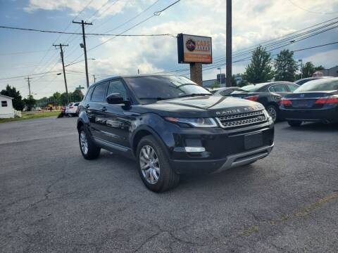 2018 Land Rover Range Rover Evoque for sale at Cars 4 Grab in Winchester VA