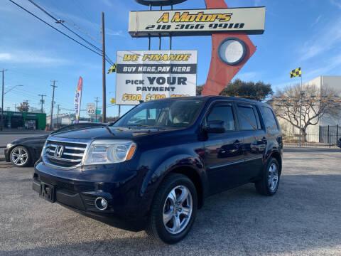 2013 Honda Pilot for sale at A MOTORS SALES AND FINANCE - 6226 San Pedro Lot in San Antonio TX