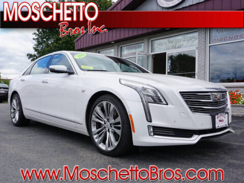 2016 Cadillac CT6 for sale at Moschetto Bros. Inc in Methuen MA