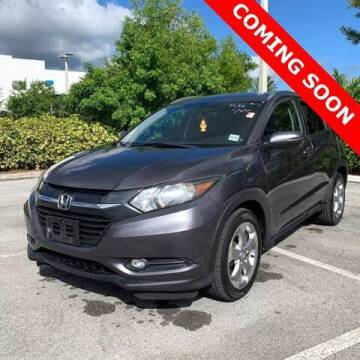 2016 Honda HR-V for sale at Monster Cars in Pompano Beach FL