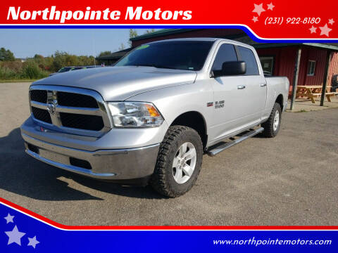 2017 RAM Ram Pickup 1500 for sale at Northpointe Motors in Kalkaska MI