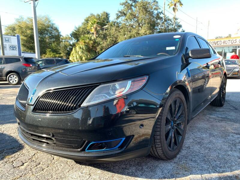 2013 Lincoln MKS for sale at Always Approved Autos in Tampa FL