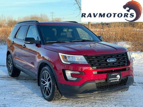 2016 Ford Explorer for sale at RAVMOTORS in Burnsville MN