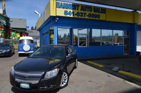 2010 Chevrolet Malibu for sale at Earnest Auto Sales in Roseburg OR