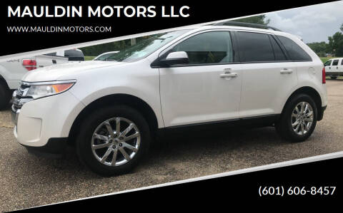 2013 Ford Edge for sale at MAULDIN MOTORS LLC in Sumrall MS