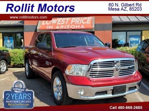 2014 RAM Ram Pickup 1500 for sale at Rollit Motors in Mesa AZ