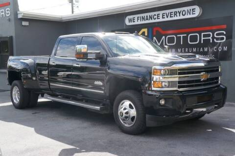 2018 Chevrolet Silverado 3500HD for sale at Meru Motors in Hollywood FL