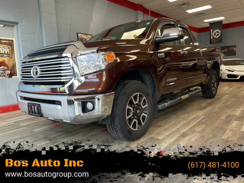 2015 Toyota Tundra for sale at Bos Auto Inc in Quincy MA