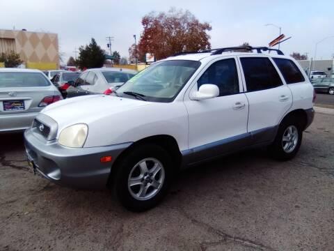 2004 Hyundai Santa Fe for sale at Larry's Auto Sales Inc. in Fresno CA