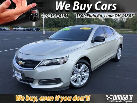 2015 Chevrolet Impala for sale at White's Honda Toyota of Lima in Lima OH