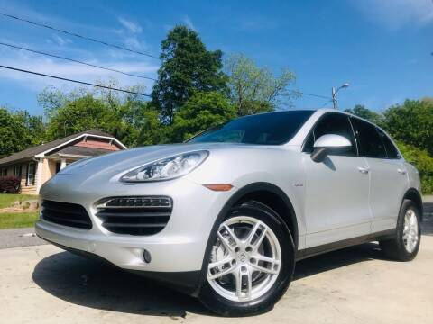 2013 Porsche Cayenne for sale at E-Z Auto Finance in Marietta GA