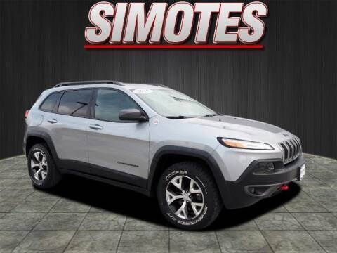 2015 Jeep Cherokee for sale at SIMOTES MOTORS in Minooka IL
