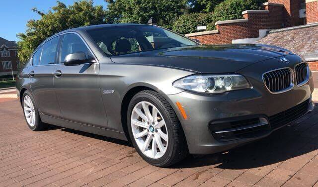 2014 BMW 5 Series for sale at Carmel Auto Group in Indianapolis IN