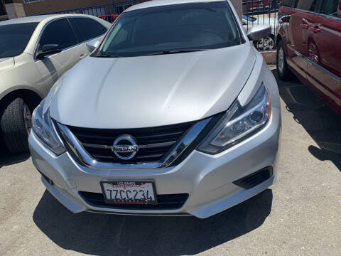 2017 Nissan Altima for sale at GRAND AUTO SALES - CALL or TEXT us at 619-503-3657 in Spring Valley CA