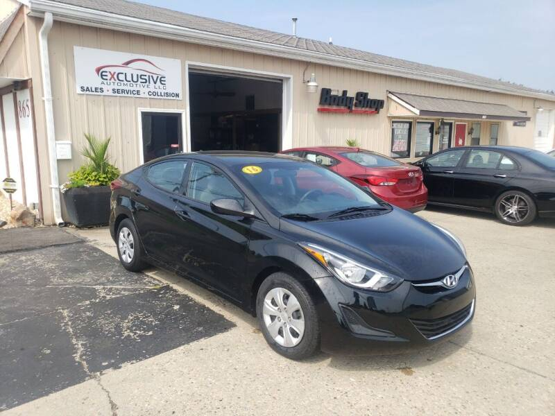2016 Hyundai Elantra for sale at Exclusive Automotive in West Chester OH