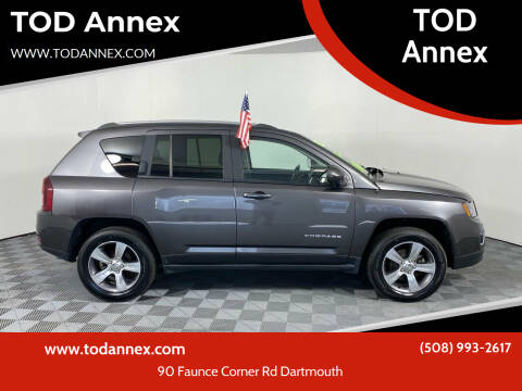 2016 Jeep Compass for sale at TOD Annex in North Dartmouth MA