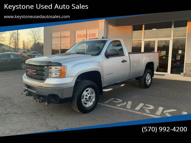 2014 GMC Sierra 2500HD for sale at Keystone Used Auto Sales in Brodheadsville PA