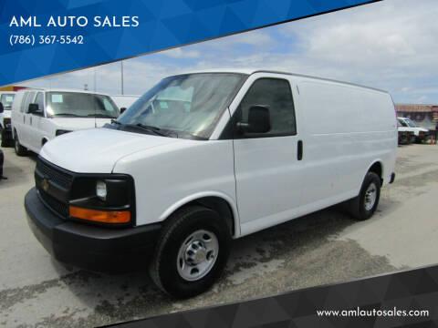 2006 Chevrolet Express Cargo for sale at AML AUTO SALES - Cargo Vans in Opa-Locka FL
