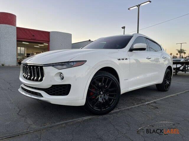 2018 Maserati Levante for sale at BLACK LABEL AUTO FIRM in Riverside CA